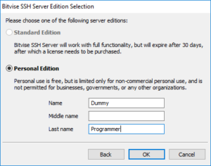 Configuring an SFTP server on Windows Server - The Dummy