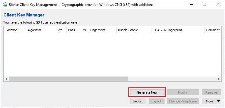 Bitvise SSH Client Installation 3